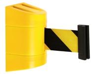 Geltona juoda atitvėrimo juosta, automatiškai susisuka į kasetę.