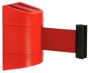 Atitvaro raudona juosta kasetėje.