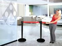 Eilių tvorelės skirtos naudoti prie kasų, oro uostose, muziejuose, ofisuose, parduotuvėse ir kitur.