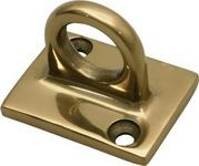 Aukso spalvos sieninis atitvarų laikiklis.