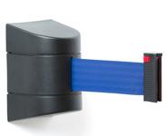 Atitvėrimo kasetė su mėlyna juosta.