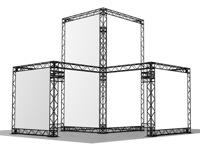 Nestandartiniai parodiniai stendai, skirti naudoti didelėse salėse, tokiose kaip Litexpo ar panašiuose parodų rūmuose.