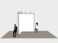 Siūlome Jums sumaketuoti, pagaminti ir pastatyti parodinį stendą.
