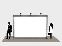 Reklamos sprendimai ir technologijos parodoms, konferencijoms, prezentacijoms.