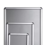 įvairaus dydžio aliuminio rėmeliai reklamai, varstoma click sistema
