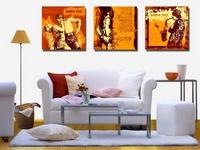 Namų interjeras puikiai pagyvinamas spausdintiniais plakatais ant drobės (audinio)