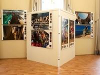 parodų sienelė paveikslams, parodoms